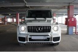 Рестайлинг Гелендваген. Установка Comand 5s1 для Mercedes G-Class W463