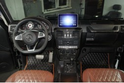 Рестайлинг Гелендваген. Команд Гелендваген 5s1 Mercedes G55 AMG 2009